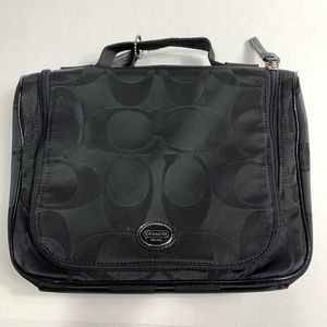 Coach Black Cosmetics Bag